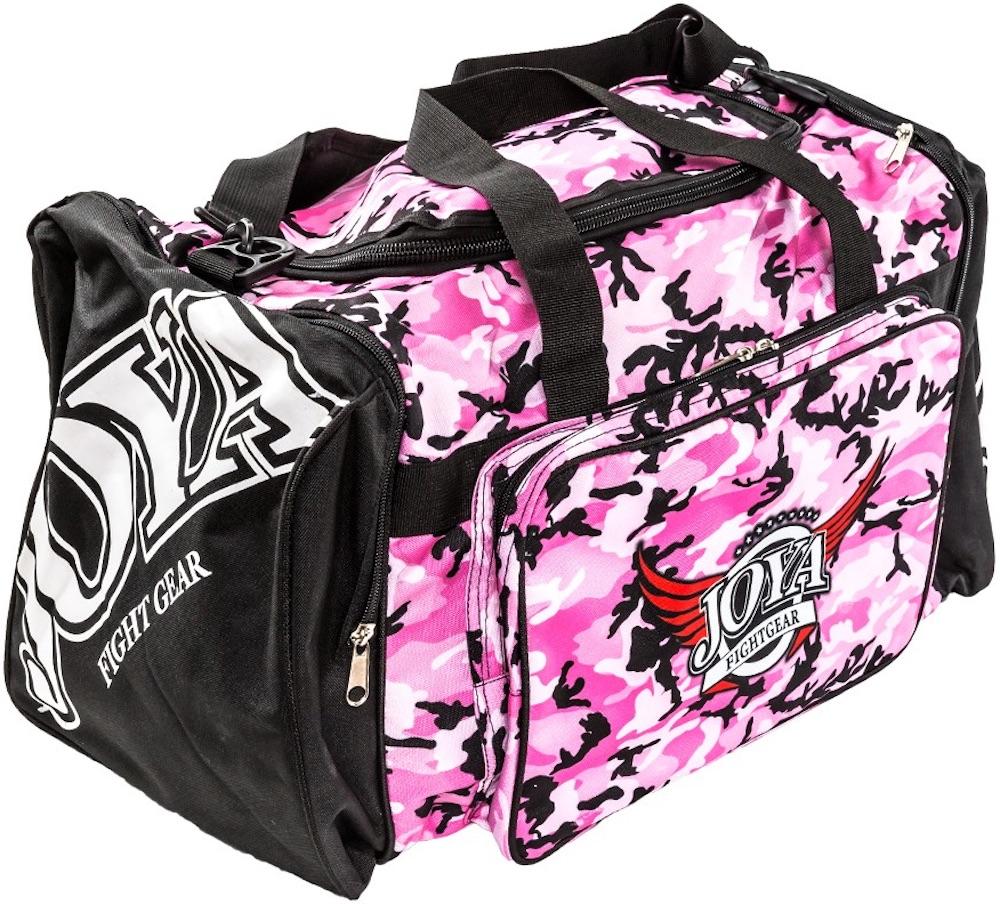 45c2173445e Joya Sporttas Pink Camo Gym Bag Kickboks Tas by Joya Fightgear
