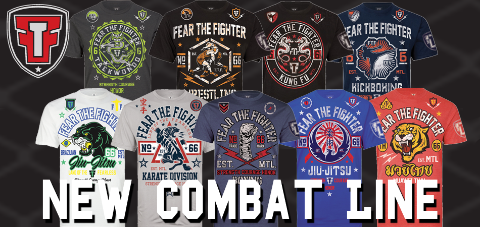 Fear-The-Fighter-T-Shirts
