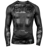 Venum Tactical Rash Guard L/S Compressie Shirt Camo Zwart