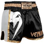 Venum Muay Thai Boxing Shorts Giant Zwart Wit Goud