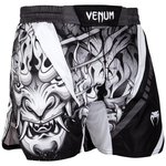 Venum Fight Shorts Devil White Black Venum Vechtsport Shop