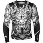 Venum Devil Rashguard L/S Wit Zwart