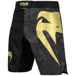 Venum Fight Shorts Light 3.0 Zwart Goud Camo