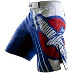 Hayabusa Chikara Recast Performance MMA Fight Shorts Blue White