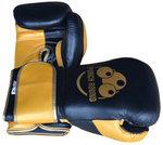 Punch Round™ Champion Bokshandschoenen Leder Zwart Goud