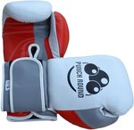 Punch Round™ Champion Bokshandschoenen Leder White Red Grey