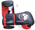 Punch Round™ Champion Bokshandschoenen Leder Zwart Rood Wit