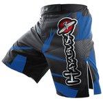Hayabusa Metaru MMA Fight Shorts Zwart Blauw