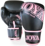 Joya Top One Dames Bokshandschoenen Kick Boxing Zwart Roze