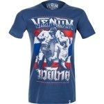 Venum Thai Chok T-Shirt Blue Kickboks Kleding