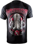 Hayabusa OCTOPUS BJJ T Shirt Black Red BJJ Fightwear Shop