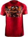 Hayabusa Samurai T Shirt Red Fightshop Nederland