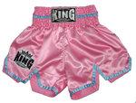 King Dames Kickboks Vecht Broekje KTBS 20 Pink Blue