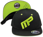 MusclePharm MP Cap Front Logo MP Black Green