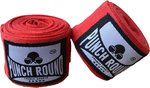 HQ Bandage Rood Hand Wraps No Stretch Punch Round™ 260 cm