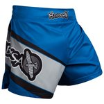 Hayabusa Muay Thai Kickboxing Shorts Blue Kickboks Broekjes