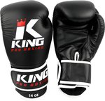 King Pro Boxing Gloves Kickboks Bokshandschoenen KPB/BG 3 Black