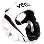 Venum ELITE Headgear Kickboks Hoofdbeschermer White Black