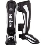 Venum Elite Stand Up Kickboks Scheenbeschermer Black White