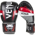 Venum Kickboks Handschoenen ELITE Boxing Gloves Black Red Grey