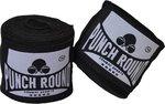 Punch Round Perfect Stretch Hand Wraps Zwart Bandages 460 cm