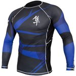 Metaru 47™ Rashguard Hayabusa® Long Sleeve Blue