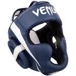 Venum Kickboks HoofdbeschermerElite Navy Blue White