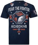 Fear The Fighter Kickboxing T Shirt