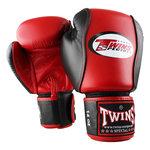 Twins (Kick)Bokshandschoenen BGVL 7 Zwart Rood Leder