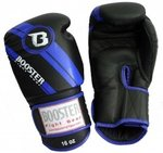 Bokshandschoenen Booster Pro Range BGL Black Blue Foil