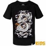 VenumKidsT Shirt Dragon FlightZwart - Vechtsport Kleding Kinderen