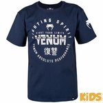 Venum Vechtsport Kleding Kinderen Signature Kids T Shirt Blauw