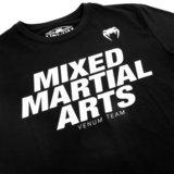 Venum MMA VT T-shirts Zwart Wit