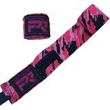 Punch Round TreX Boksbandages Kids Camo Zwart Rood Roze 200 cm