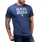 Hayabusa Casual logo T Shirt Blauw Vechtsport Shop Nederland