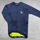 Hayabusa Fusion Rash Guard Long Sleeves Blauw Groen