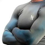 Hayabusa Fusion Rashguards Long Sleeves Grijs Aqua