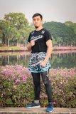 Booster Thaiboks Broekje Muay Thai Short TBT Labyrint 3