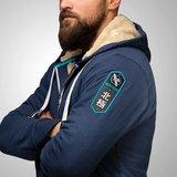Hayabusa Arctic Heavy Weight Zip Hoodie Navy Blauw