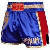 Venum Kickboks Broekje Muay Thai Giant Blauw Rood Goud