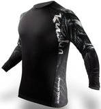 PunchTown Rashguard Ryushin Black Long Sleeve