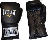 Everlast Professional Laced Training Bokshandschoenen Zwart