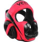 Venum ELITE Headgear Hoofd beschermer Zwart Roze