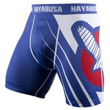 Hayabusa Recast Compression Shorts Blue Vechtsport Kleding
