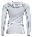 Women's Hooded Henley Hoodie by Jaco Clothing