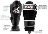 King Pro Boxing Kickboks Scheenbeschermers KPB/ SG-1