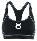 Tenacity Dames Topje Clothing Womens Sports Bra Black
