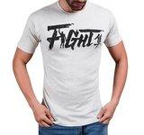 Hayabusa Fight T Shirt Grey Vechtsport Kleding Hayabusa
