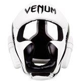 Venum ELITE Headgear Kickboks Hoofdbeschermer White Black