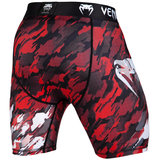 Venum Tecmo Vale Tudo Shorts Compression Short Red White